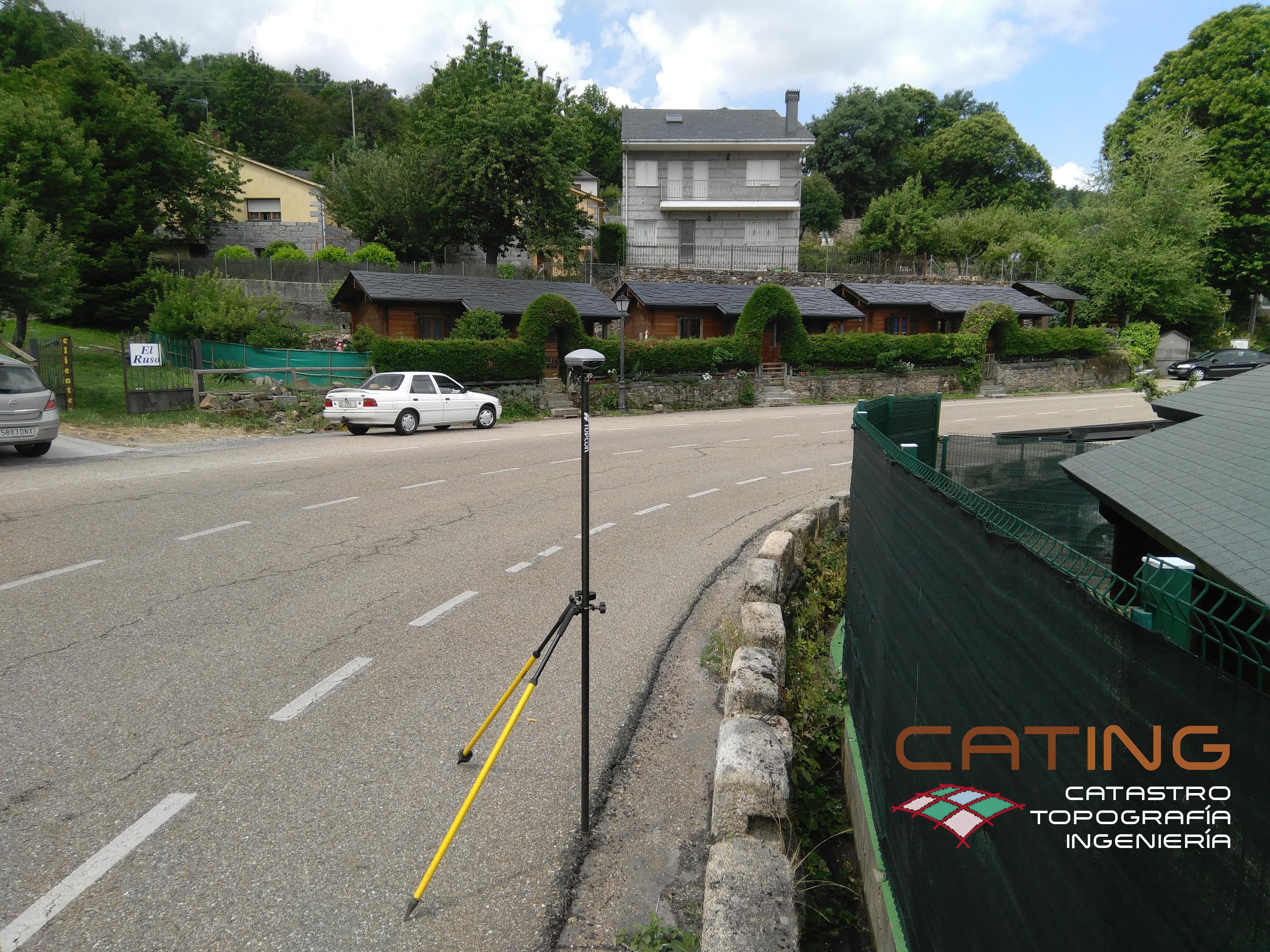 Levantamiento topográfico para construcción de centro de ocio. CATING Catastro Topografía e Ingeniería.