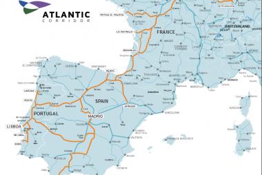 Corredor ferroviario del atlántico. CATING Catastro Topografía e Ingeniería.