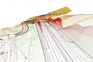 Topografia para ensanche y mejora de carretera.